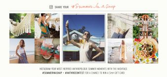 ANTHROPOLOGIE® Sweepstakes