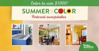 Better Homes and Gardens® Real Estate Summer of Color Sweepstakes Sweepstakes
