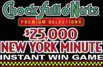 Chock Full o' Nuts Sweepstakes