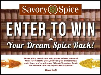 Savory Spice Sweepstakes