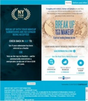 Break Up With Your Makeup 2015 Sweepstakes