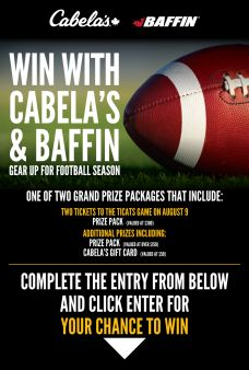 Cabela's Canada Sweepstakes