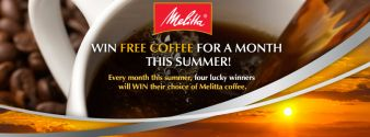 Melitta USA · Free Coffee For a Month this Summer Sweepstakes
