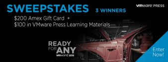 VMware Press Sweepstakes
