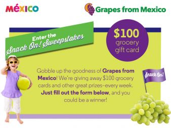 Grapes from Mexico Sweepstakes