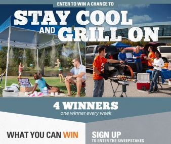 Direct Tools Factory Outlet · Stay Cool and Grill On Sweepstakes
