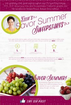 Grapes From California Sweepstakes