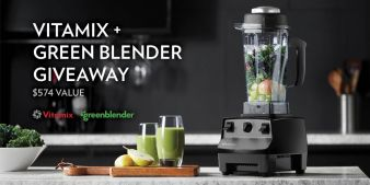 Vitamix + Green Blender Giveaway Sweepstakes