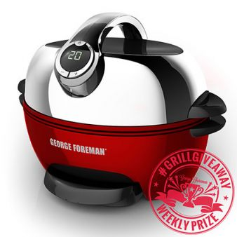 George Foreman Cooking Sweepstakes