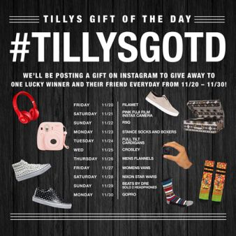 Tilly's Sweepstakes