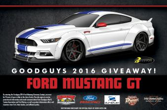 Goodguys Sweepstakes
