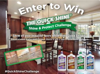 Quick Shine Floor Finish Sweepstakes
