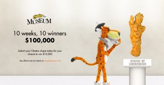 Cheetos Museum Contest Sweepstakes
