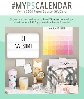 Paper Source Sweepstakes